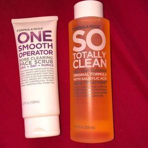 Pore Clearing Face Scrub & Deep Pore Cleanser